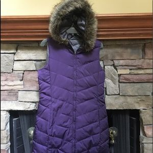 Coldwater Creek NWT Long Down Vest in size XS.